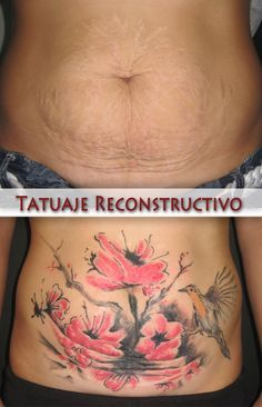 pictures of tattoos to cover stretch marks on stomach - Google ...