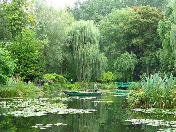 Giverny, France...Monet's garden