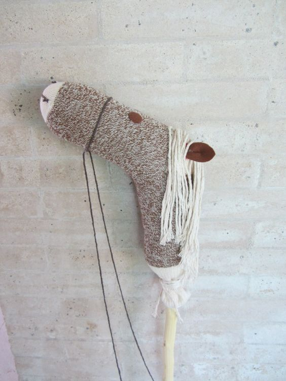 Stick Hobby Horse Tutorial. | Crafts | Pinterest | Hobby Horse, Horses