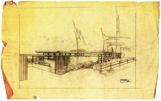 1949 Backus House Architect Greta Magnusson Grossman Nimes Rd Bel Air Estates Los Angeles.