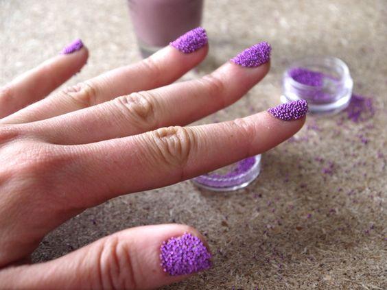 Caviar Manicure Tutorial