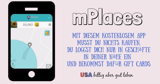 Sammle mit Pokemon Go #Pokemons und mit #mPlaces Gift Cards! (USA) Lese hier wie du mit mPlaces Gift Cards bekommst auf Deutsch.