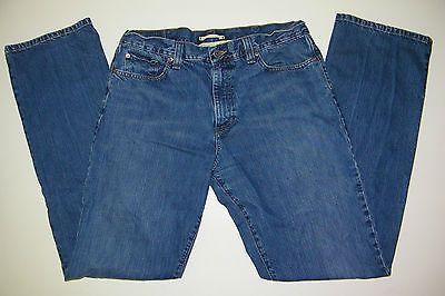 L. L. BEAN Men's Standard Fit Blue Denim Jean Size 35W x 36L