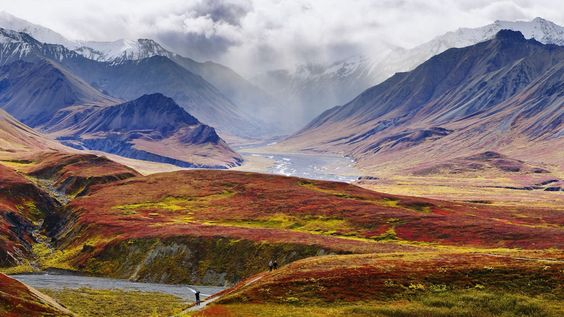 View From Eielson Visitors Center Alaska wallpapers HD free - 108290