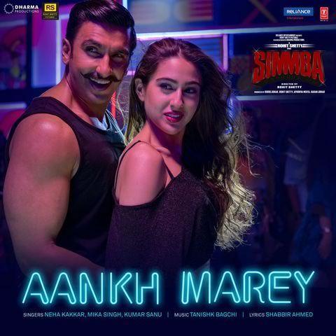 Aankh Marey Song In 2020 Bollywood Music Videos Lyrics Bollywood Music