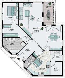 Architektenhaus Cordoba - Barrierefrei wohnen im Bungalow