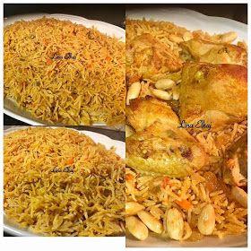 طريقة كبسة الدجاج السعودية Saudi Chicken Rice Middle Eastern Recipes Food Chicken Rice