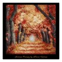 Original Autumn Canopy by Alison Galvan Buy a Poster here! http://www.zazzle.ca/original_autumn_canopy_by_alison_galvan_zazzleperfectposter-256356471065017205