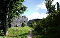 Ruine Burg Engelsburg Andelska Hora Tschechien
