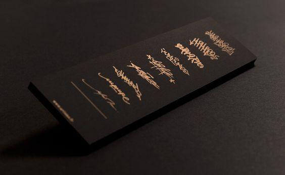 黑x金 品牌視覺 | MyDesy 淘靈感