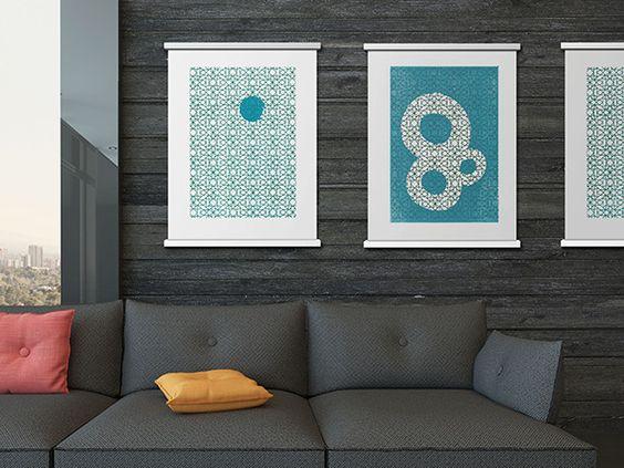 STiiCKs Poster Frames by Brandon Knowlden
