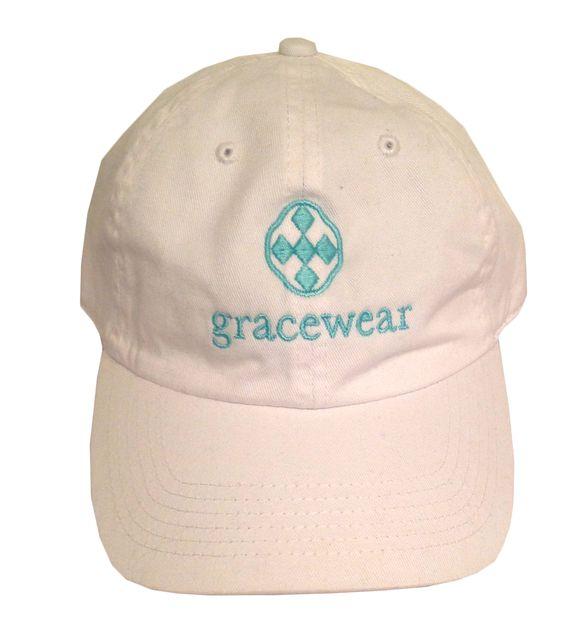 Gracewear Collection - Baseball Cap-White, $18.00 (http://gracewearcollection.com/baseball-cap-white/)