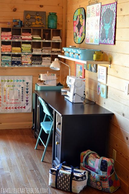 Family Ever After....: My Sewing Room
