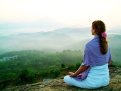 What a place to meditate!