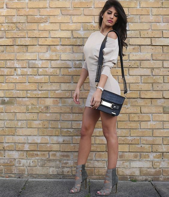 Jasmin Walia wears ALYNA - http://www.publicdesire.com/catalogsearch/result/?q=alyna&utm_source=Pinterest&utm_medium=Social&utm_campaign=Campaign_Olapic