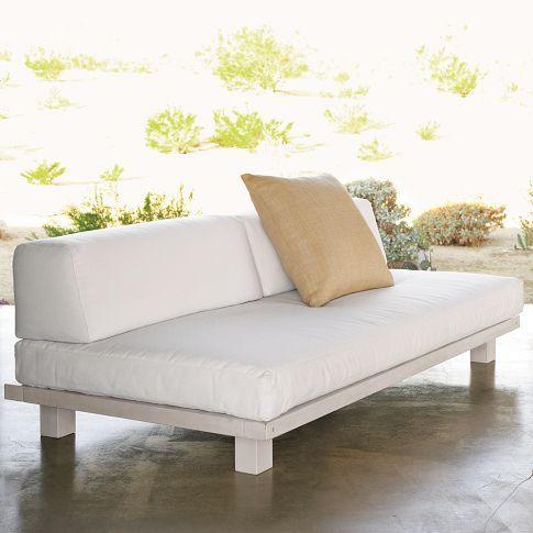West Elm Tillary Outdoor Modular Seating Sofa Base 74 W X 38 D X 24 H Backyard Envy