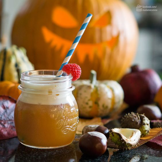 Pimm's Punsch: Halloween Cocktail Party | Madame Cuisine Rezept