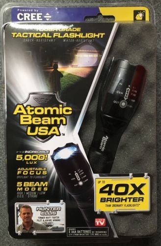 Atomic Beam USA Tough Grade Tactical Flashlight As Seen On Tv https://t.co/FMBV4G4qrR https://t.co/WmZoiryxF4