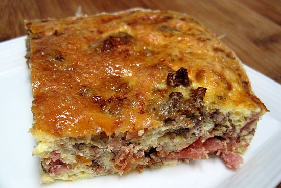 Bacon Cheeseburger Quiche -omit onion use onion pwdr.no tomato paste..use yougurt too