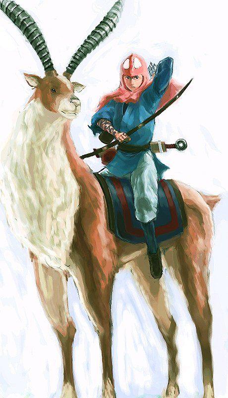 もののけ姫のアシタカの画像