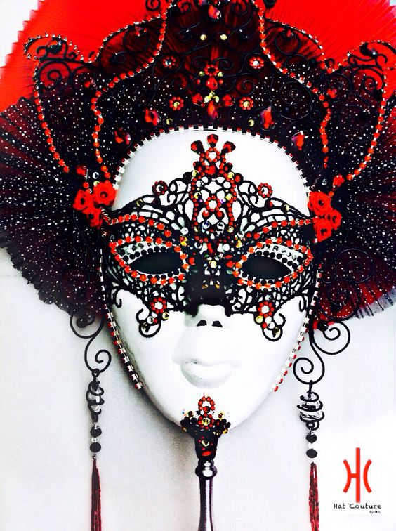Custom made masquerade mask