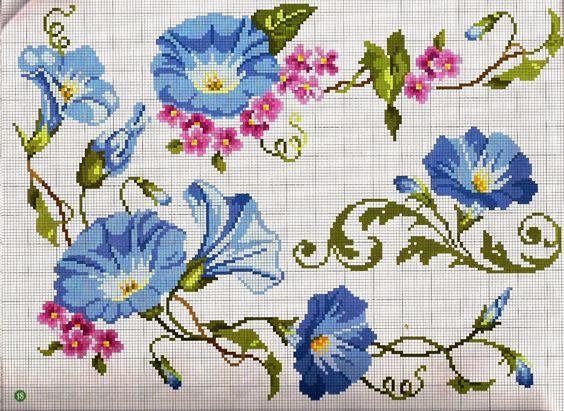 Schemi a punto croce gratuiti per tutti schema punto for Schemi punto croce fiori e farfalle