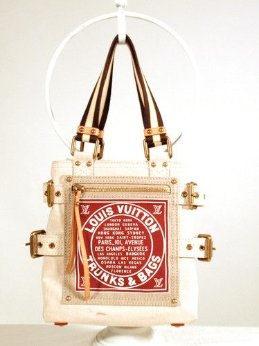 Louis vuitton canvas trunks bags purse globe trotter for Louis vuitton bin bags