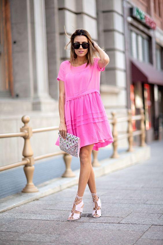 Rosa Kleid Kombinieren Welche Schuhe Passen Zu Rosa Kleid Con Imagenes Ropa Moda Femenina Ropa Linda