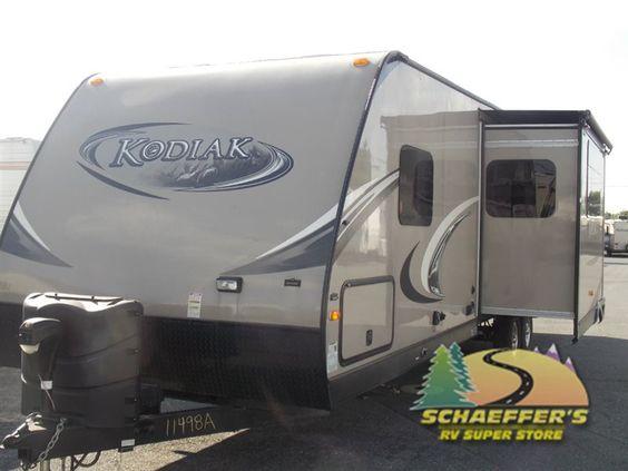 Used 2013 Dutchmen RV Kodiak 292TQB Toy Hauler Travel Trailer at Tom Schaeffer's RV Superstore | Shoemakersville, PA | #11498A