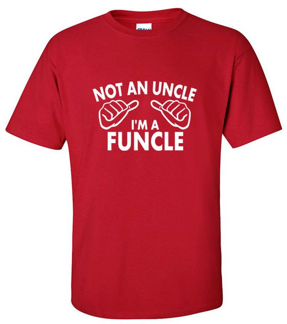 Gifts for Uncle | Uncle T-Shirt | Not an Uncle I'm a Funcle | New Uncle Gift | Presents for Uncles| Uncle T Shirts | Fun Uncle T-Shirts (14.95 USD) by TrendyMandy