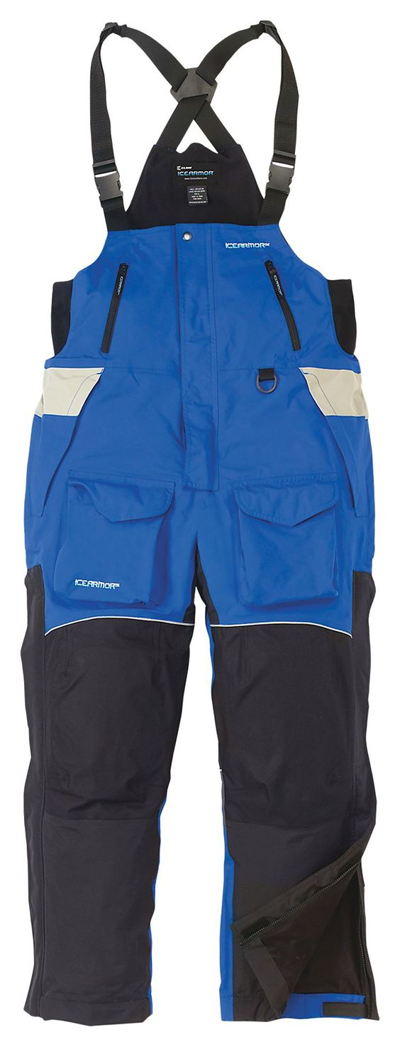 Icearmor by clam edge cold weather bibs for men bass pro for Fishing in cold weather
