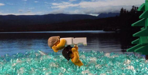 Dirty Dancing: Ritmo Quente | 13 cenas de filmes meticulosamente recriadas em Lego