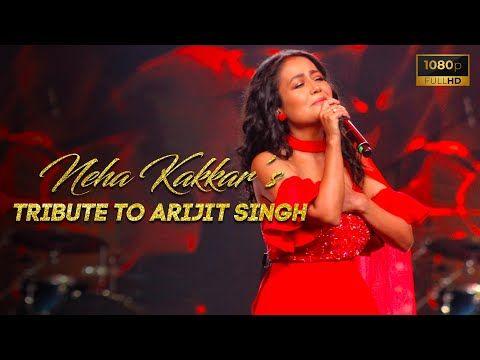 Neha Kakkar Tribute To Arijit Singh Vibhor Parashar Kunal Pandit Smule Mirchi Music Awards Youtube In 2020 Neha Kakkar Music Awards Love Songs Hindi