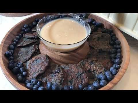 بان كيك بالبلوبيري مافي الذ من كذا Youtube Food Cooking Desserts