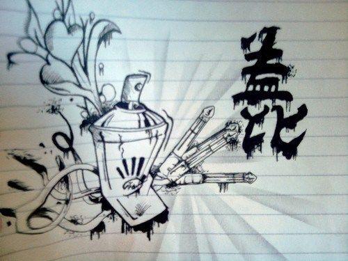 Graffitis Dibujos A Lapiz De Latas Graffiti Graffitis Graffitis Chidos