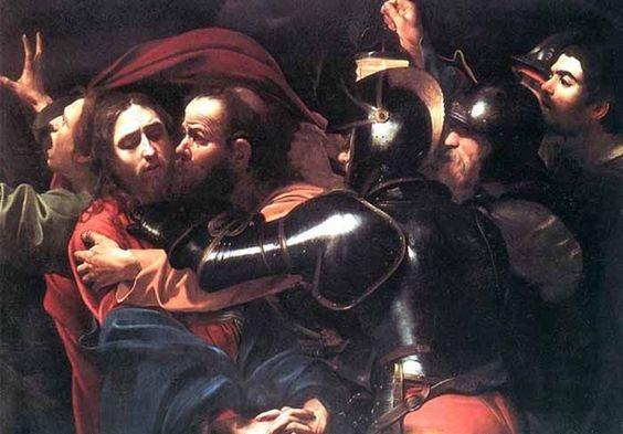 """15 Abr 2014   SEMANA SANTA - MARTES SANTO - EL BESO DE JUDAS   El beso de Judas"""" de Caravaggio fue recuperado tras ser robado."""