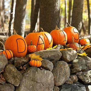 Word Pumpkins