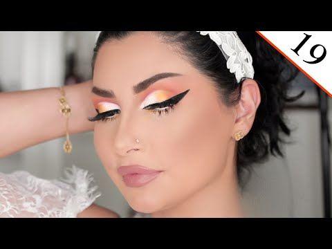 الدرس ١٩ مكياج برتقالي و أصفر مع أيلينر للـ عيد دورة ميثاءعبدالجليل Youtube Makeup Art Makeup Artist Makeup