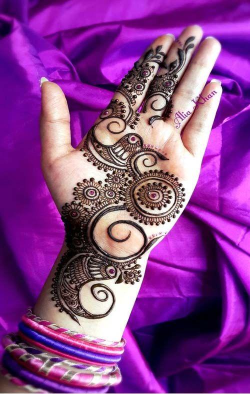 Stylish Wedding Full Hands Mehndi New Style 2019 Henna