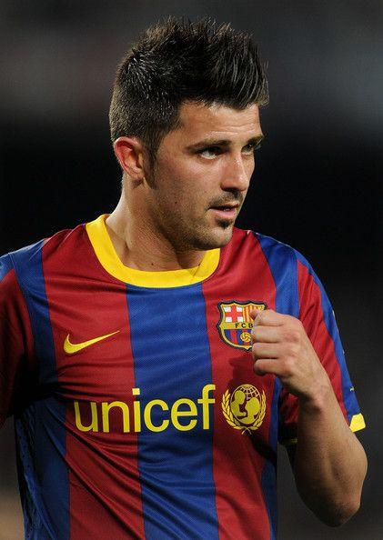THE Striker, David Villa - BARCELONA FC