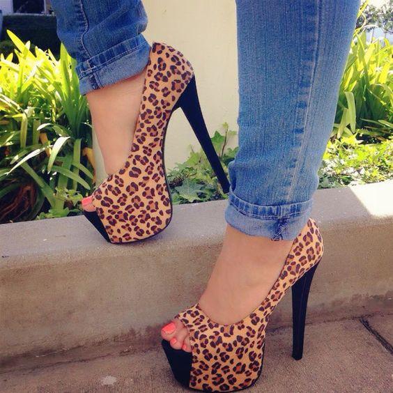 Leopard Print #heelshoes #platformheels #highheels #heels #heelsfashion #pumps #pumpheels #heelpumps #platformheels #platformshoes #spring #springcollection #cute #fun #springtime #springfling #springfun #2014spring #springbreak #springfun #funinthesun