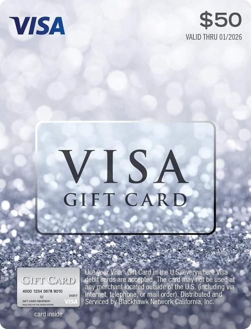 $13 Visa Gift Card (plus $13.13 Purchase Fee) Amazon  Visa gift