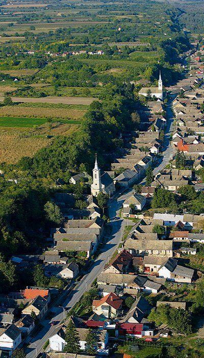Zmajevac village in Slavonia, Croatia