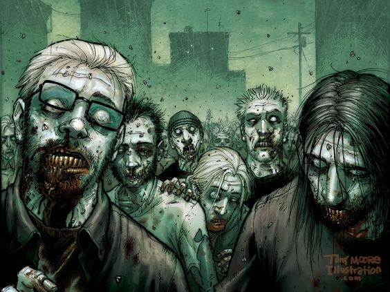 walking dead posters | Free The Walking Dead Comic Poster ...