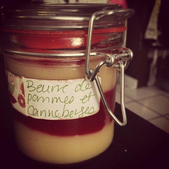 Cadeau d'hôtesse - Beurre de pommes et de canneberges