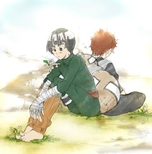 Pinterest • The world's catalog of ideas Gaara And Rock Lee Yaoi