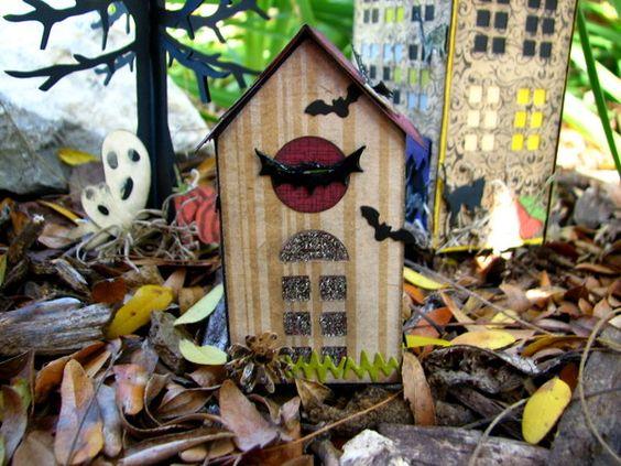 Flowerdisco's Scrap Hut: A HALLOWEEN TOWN- PART 2