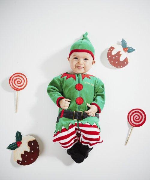 Mothercare disfraz de elfo disfraces y accesorios - Disfraces infantiles navidenos ...