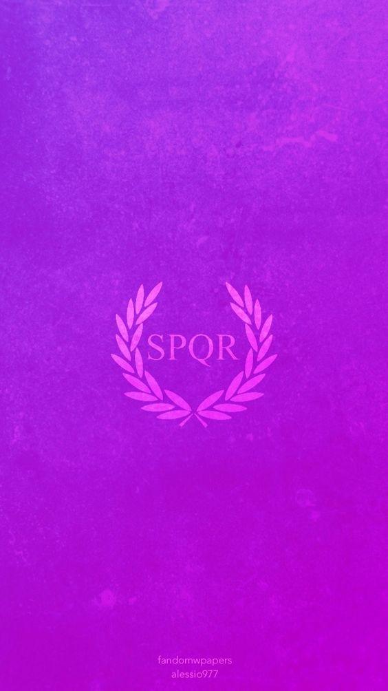 spqr wallpaper purple - photo #17