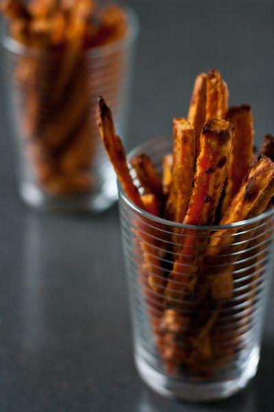 edible perspective - Home - tahini honey sweet potatofries: